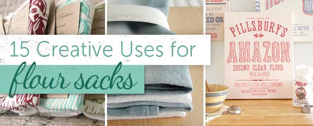 flour sack towel uses