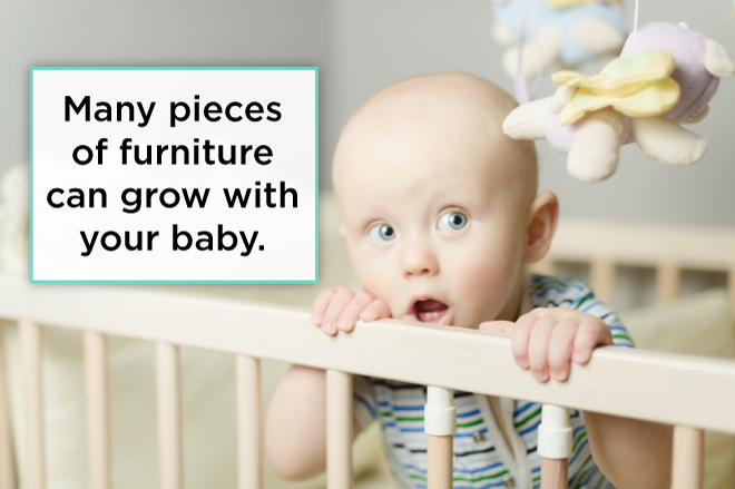 furniture grows with baby