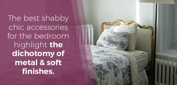shabby chic bedroom deign