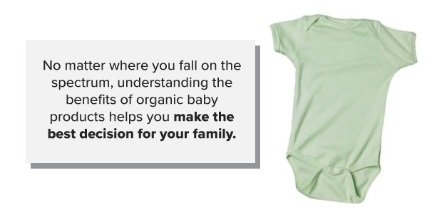 deciding organic baby products to use