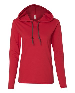 red womens sweatshirt