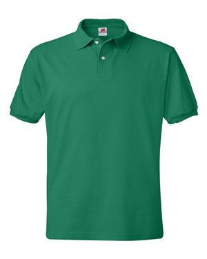 kelly green polo
