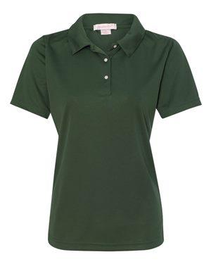 green mesh polo