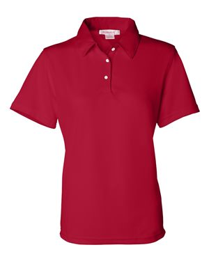 red mesh polo