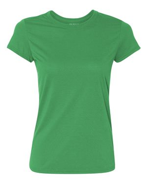 kelly green performance shirt