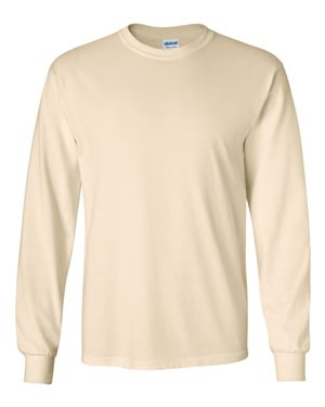 natural cotton long sleeve shirt