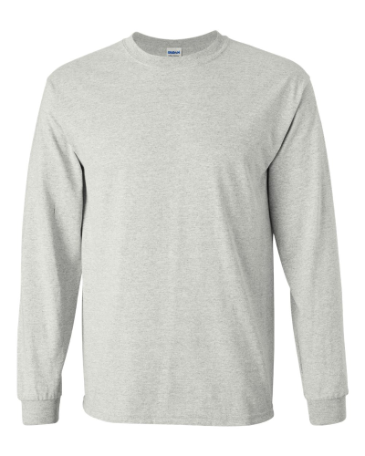 652aa1c8d095 ... Men's Ultra Cotton T-Shirt – Long Sleeve by Gildan. natural ...
