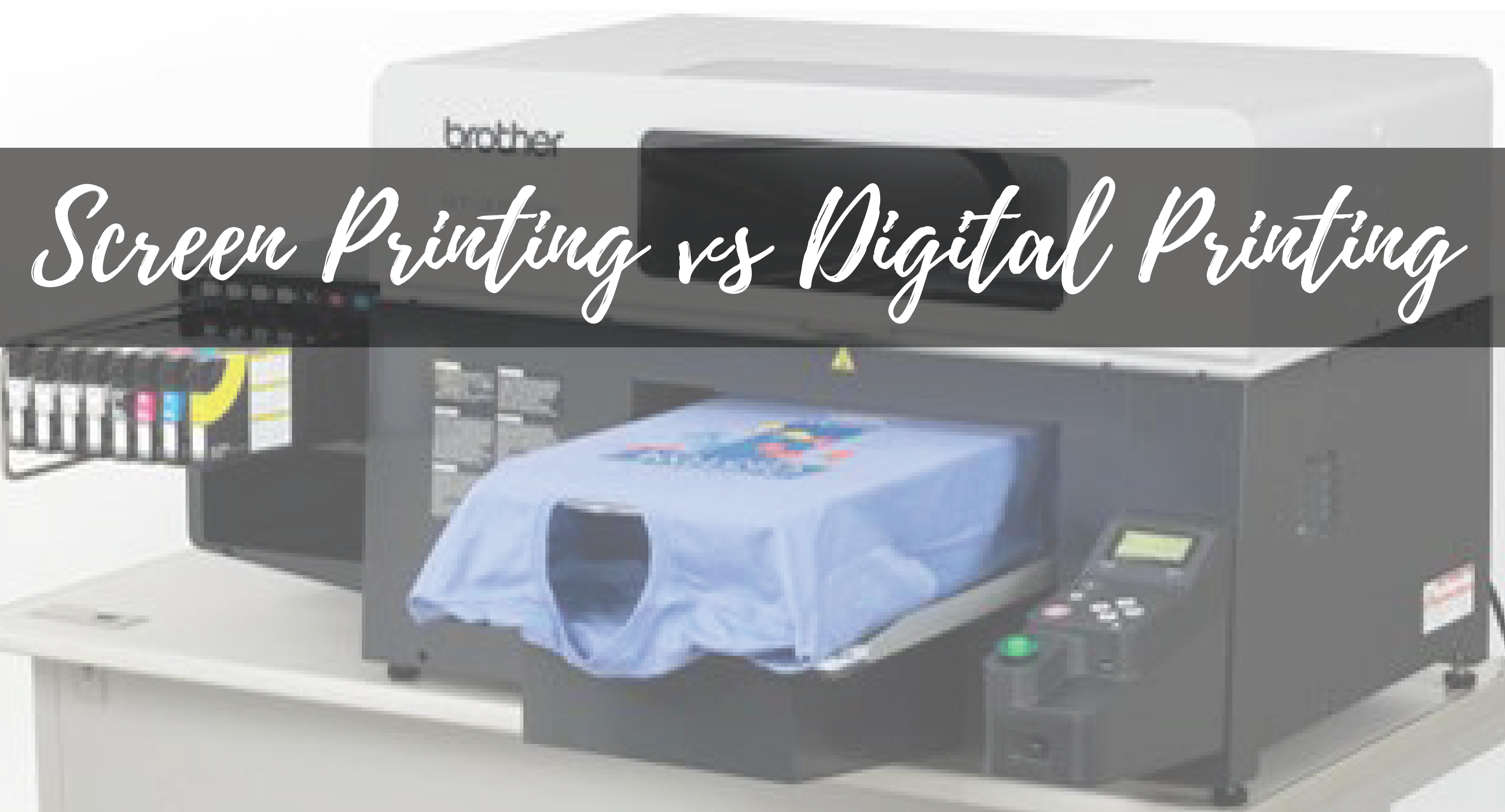 What is Screen Printing? The Pros and Cons of Screen Printing
