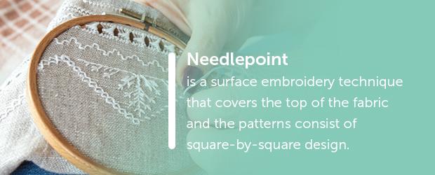 needlepoint embroidery