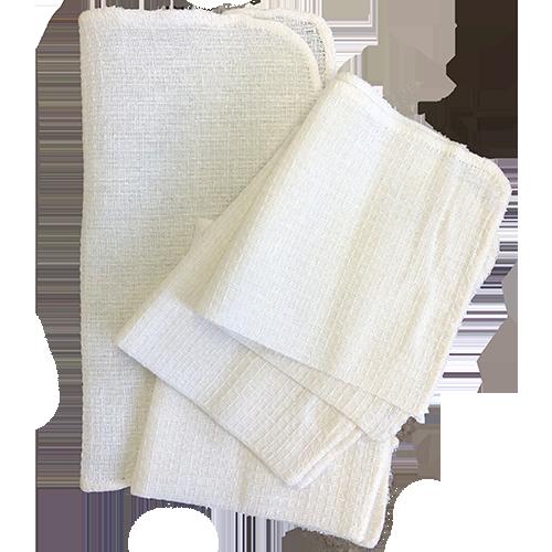 Home Basics Waffle Weave Dish Cloth 11 X 11 4 Pack 100 Cotton