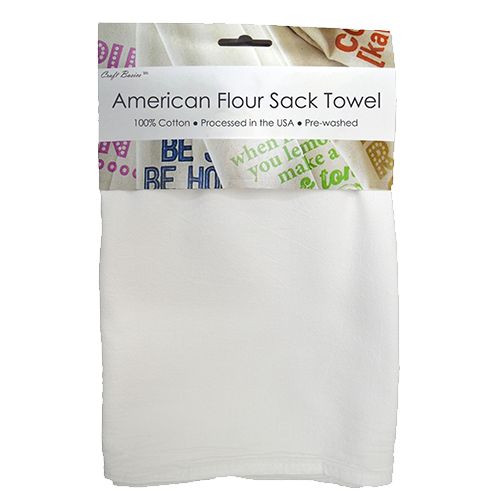 Craft Basics American Flour Sack Towel
