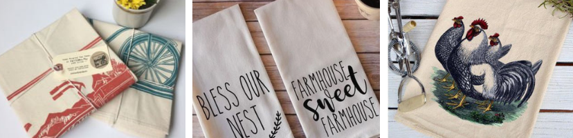 Eco Friendly Flour Sack Tea Towels - Wholesale Pricing