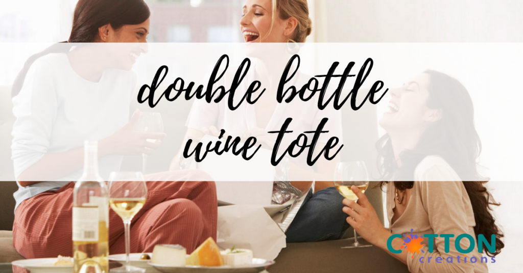 double bottle wine tote
