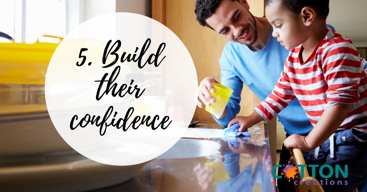 build their confidence