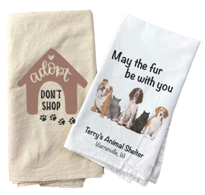 Animal Shelter towel example