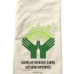 Earth Day towel example