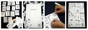 Classroom fundraiser tea towel design