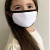 white kids mask
