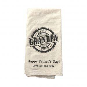"""Best Gramdpa Ever"" Tea Towel"