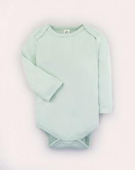 Blank long sleeve baby onesie